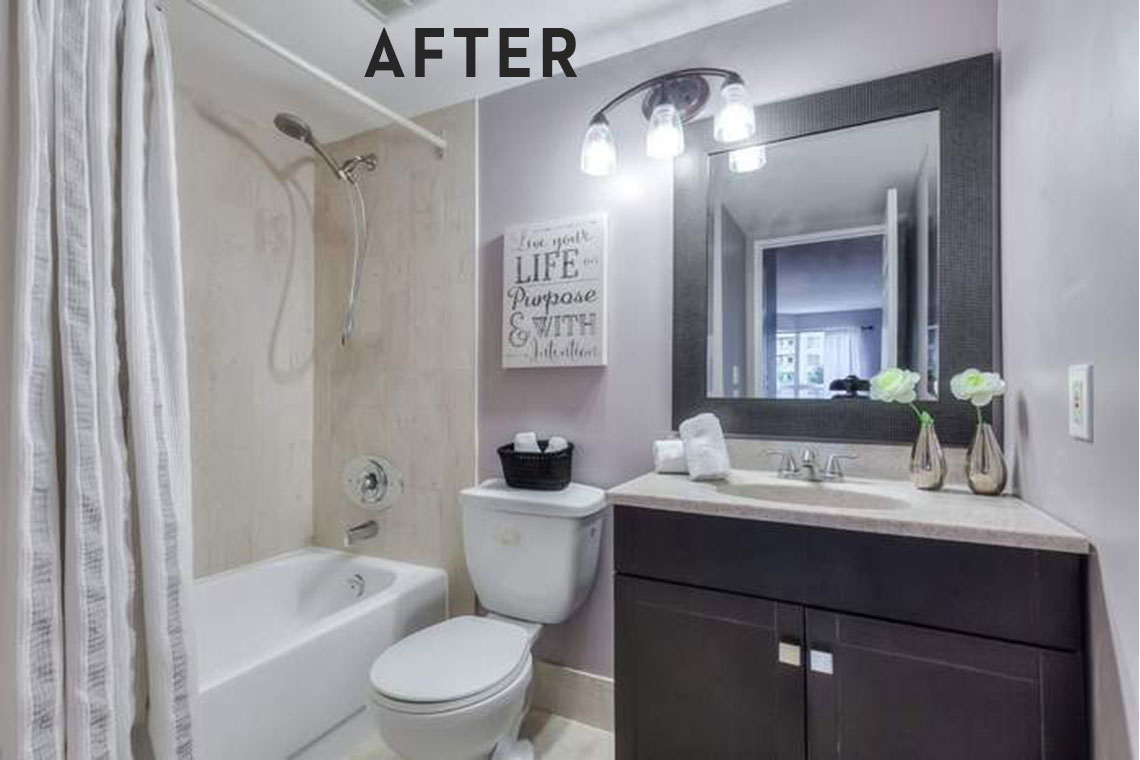 Bathroom Renovation Webb Drive Yes One Day Handyman Services - Webb bathroom remodeling