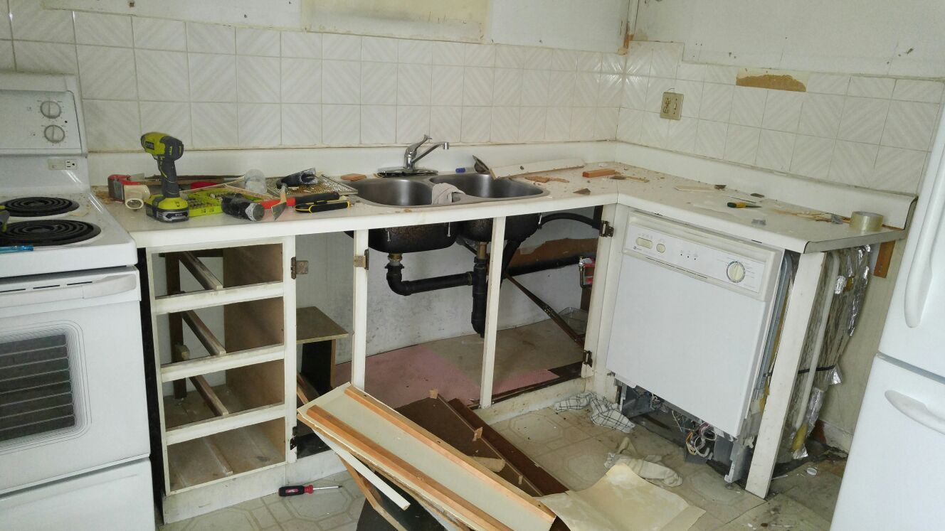 Bromsgrove Kitchen Renovation - Before
